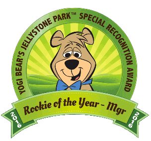 Jellystone Park - Rookie of the Year Mgr